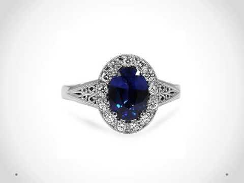 Blue Sapphire Gemstone Rings