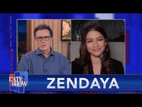 """Zendaya And Timothee Chalamet Threw Dance Parties On The Set Of """"Dune"""""""