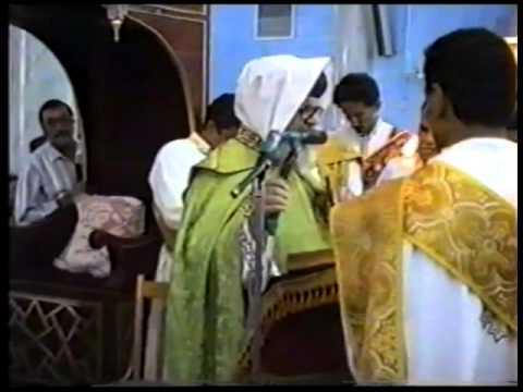 قداس الانبا اسطفانوس مطران امدرمان