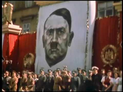 1945 - London VE Day Celebrations in Colour - music by Al Bowlly