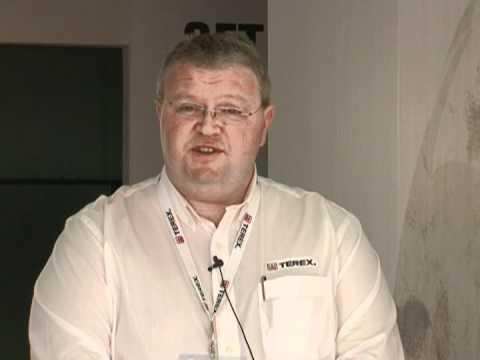 Nigel Irvine- Sales & marketing Director-Terex Materials Processing