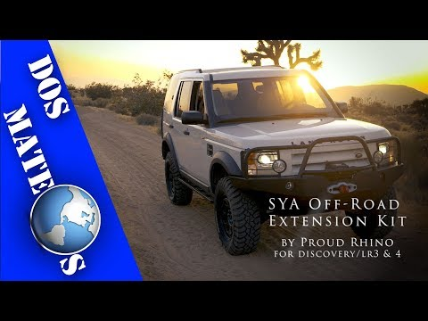 Land Rover Discovery/LR3 & LR4 - Proud Rhino SYA Off Road Extension Kit | INSTALL/How-To | [4K]