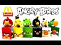 2016 Mcdonald's The Angry Birds Movie 3d Happy Meal Toys Next Guess Review After Emojis Plush