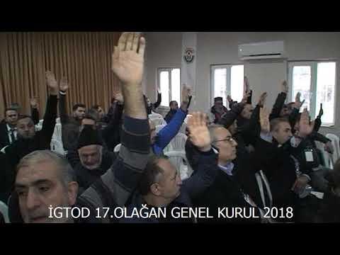 İGTOD 17. OLAĞAN GENEL KURUL TOPLANTISI
