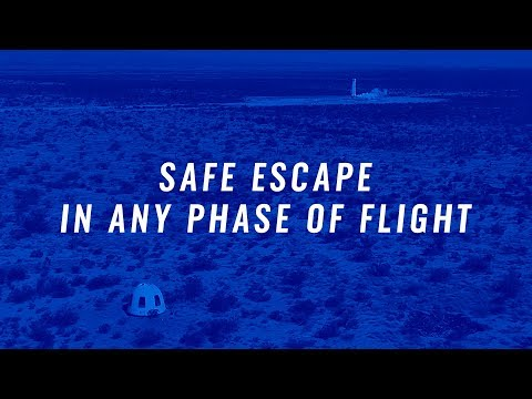 Mission 9: Safe Escape In Any Phase Of Flight © Blue Origin