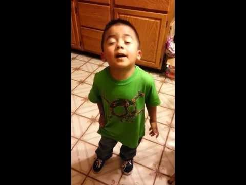 3 YEAR OLD LATINO BOY ARGUING WITH HIS MOTHER...