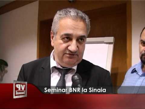 Seminar BNR la Sinaia