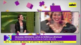 Giuliana Mendizza: música paraguaya en Punta del Este