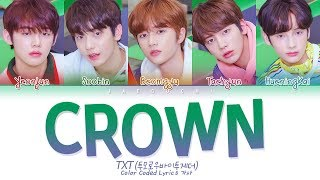 Video TXT - CROWN (어느날 머리에서 뿔이 자랐다) (Color Coded Lyrics Eng/Rom/Han/가사) MP3, 3GP, MP4, WEBM, AVI, FLV Maret 2019