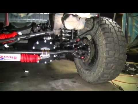 DIY Jeep Dual Steering Stablizer Shock Install