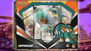Pokemon Copperajah V Box Opening! by The Pokémon Evolutionaries