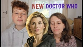 Our thoughts on different topics to do with the new doctor, Jodie Whittaker, the 13th doctor, replacing Peter Capaldi this Christmas.