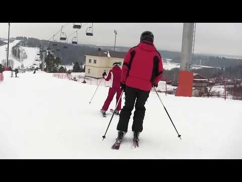 Горнолыжный курорт Сорочаны. Обзор трасс. 13.02.2014 (видео)