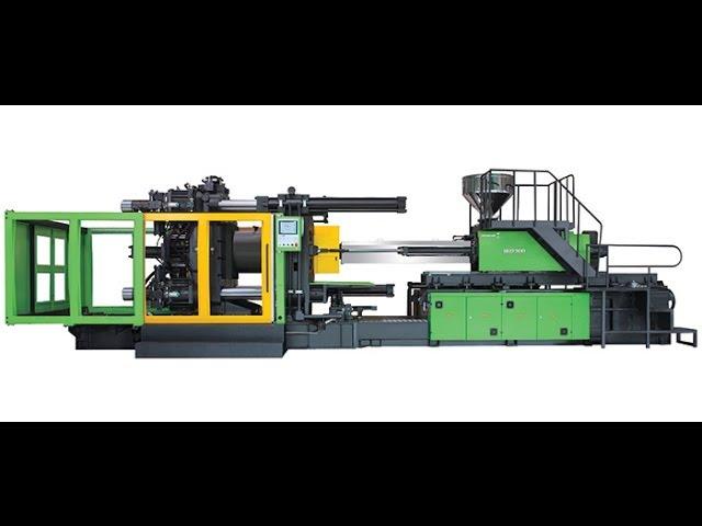 Borche BU 1800 Ton İki Plakalı Plastik Enjeksiyon Makinesi