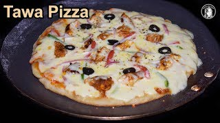 How to make Pizza at Home on Tawa. Quick and very Simple Method on Tawa Pizza by kitchen With Amna. A Step by Step...
