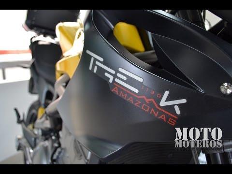 "BENELLI TRE-K 1130 ""Amazonas"" - MotoMoteros - Review"