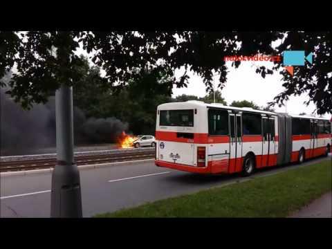 Hoří auto