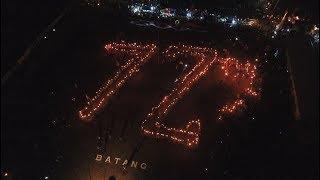 Festival Obor HUT Ke 72 Kemerdekaan RI di Wonotunggal