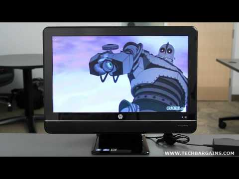 HP Compaq 8200 Elite All In One Business PC Video Review (HD)