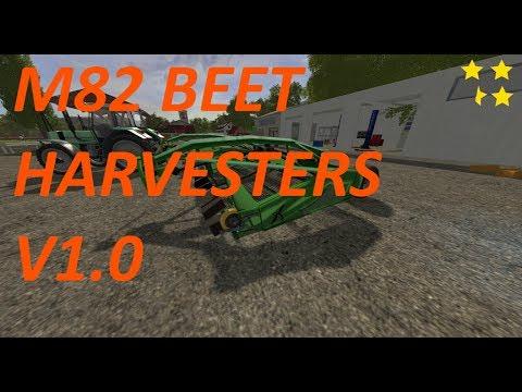M82 Beet harvesters v1.0
