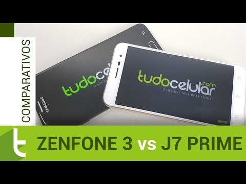 Comparativo: Zenfone 3 vs Galaxy J7 Prime  Review do TudoCelular