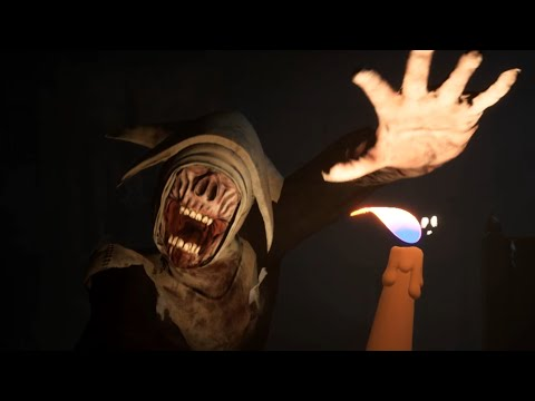 Wick - Little Nightmaresesque Candle Horror Game.... Where You Play Jean Wick ( FULL VERSION )
