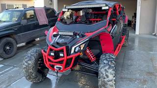 8. Best Can Am X3 XRS MAX and all the accessories