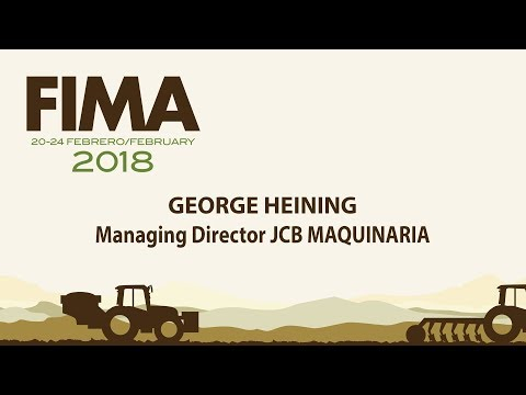 JCB MAQUINARIA - FIMA