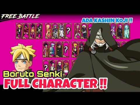 download naruto shippuden senki mod full character