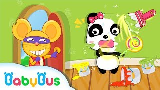Color Mixing Studio   Learn Colors   Educational Games for kids   Kids Cartoon   Baby Song   BabyBus
