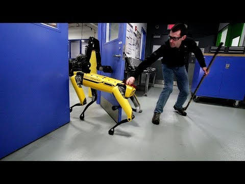 Testing Robustness - Boston Dynamics