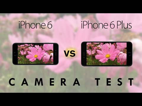 Camera - iPhone 6 vs Apple iPhone 6 Plus Hands-On Camera Comparison. Comapring the 720p front-facing cameras, the 1080p, 8 megapixel rear facing cameras, Optical Image Stabilisation, auto-focus and...