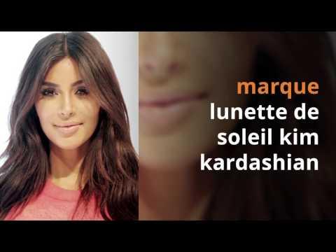 La marque des lunettes de soleil de kim kardashian