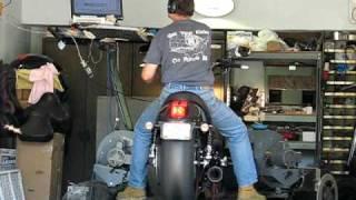 4. 2009 Harley Davidson VRSCDX NRS Night Rod Special Rinehart 2-1 Exhaust