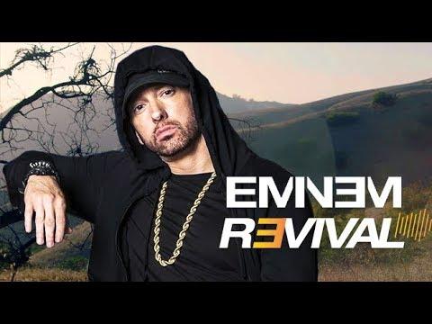 Реклама нового альбома Eminem под названием «Revival»