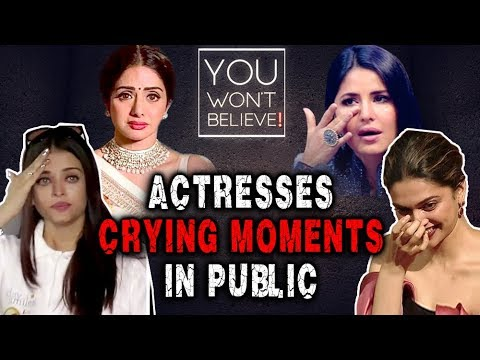 Bollywood Stars CRYING Moments In PUBLIC   Aishwar