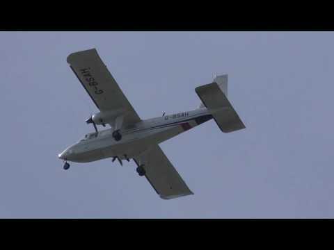 G BSAH Gama Aviation BN 2 Islander...