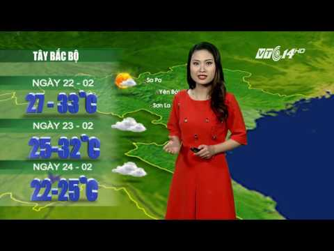 (VTC14)_ Thời tiết 12h ngày 21.02.2017