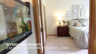 Apartment in Ames IA at Wyndham Heights, 2 bed 2 bath
