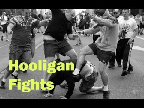 Football Hooligans Fight