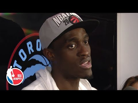 Kawhi Leonard Is 'one Of The Greats' And Is Amazing To Watch - Pascal Siakam | 2019 NBA Playoffs