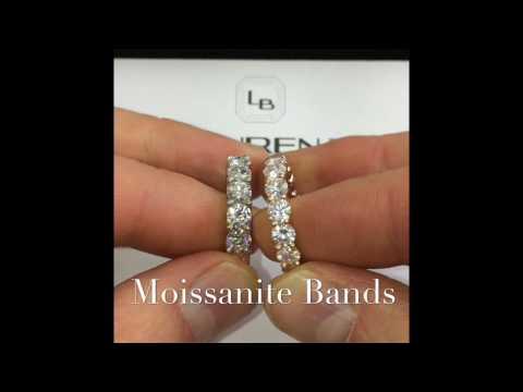 Moissanite Eternity Bands