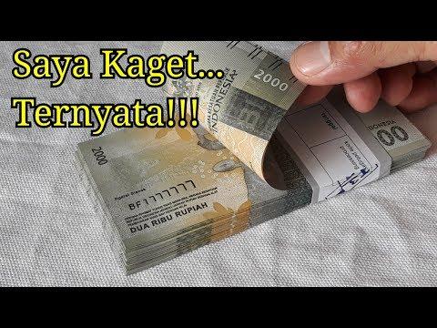 Saya Kaget Dapat Uang Satu Gepok Dari Bank, Sa'at Diperiksa Nomer Uangnya SAMA!!!