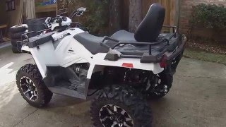3. new tire set up on 2015 Polaris 570 touring