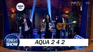 Isyana Sarasvati, Afgan & Rendy Pandugo - Aqua 242