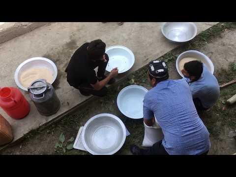 Как готовят плов в Таджикистане. Подробнейшая инструкция
