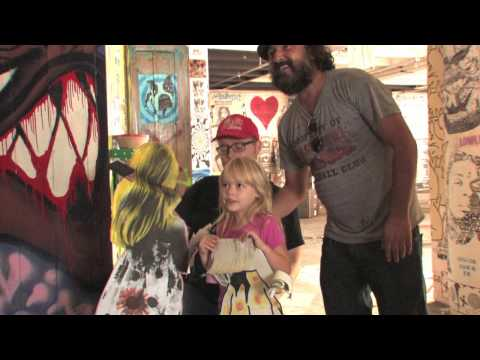 Video: Mr. Brainwash's Art Show 2011