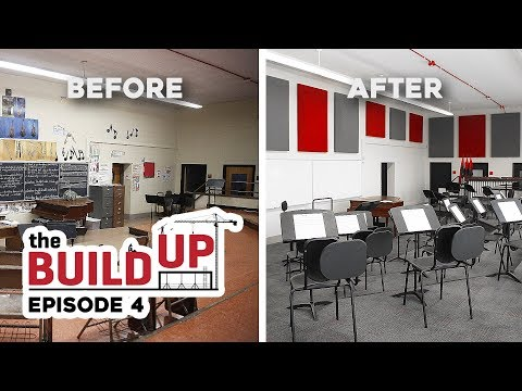 'The Build Up': Episode 4 - High School Renovation Reveal and Ravens Game Halftime Performance