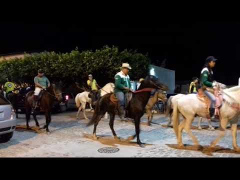 A chegada da cavalgada em Ituaçu-Ba - 2008