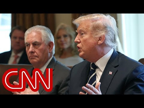 Trump fires back at Rex Tillerson: He's dumb as a rock